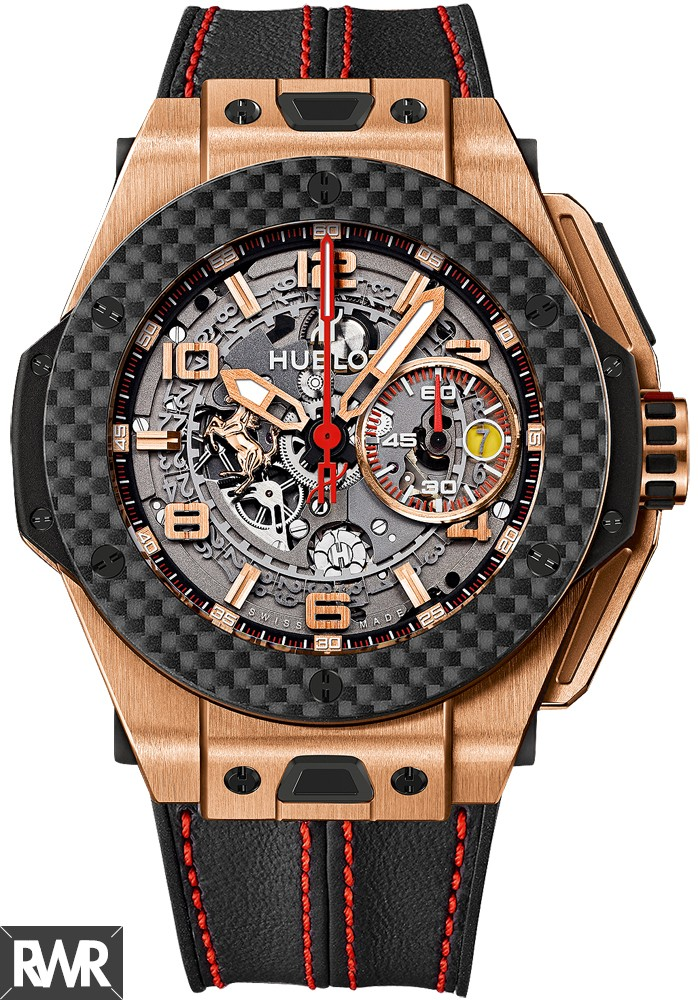 Replica Hublot Big Bang Ferrari King Gold Carbon 401.OQ.0123.VR