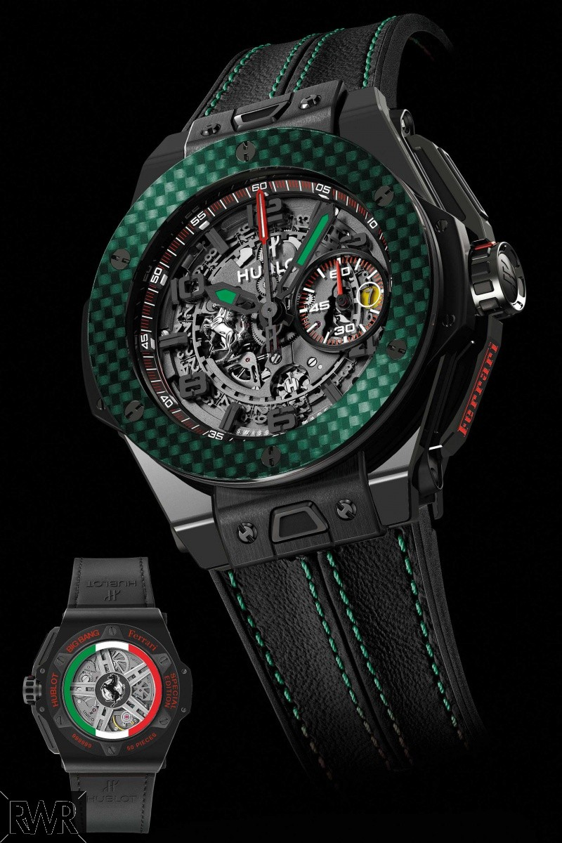 Fake Hublot Big Bang Ferrari Mexico Black Ceramic 401.CQ.0123.VR.FMX15