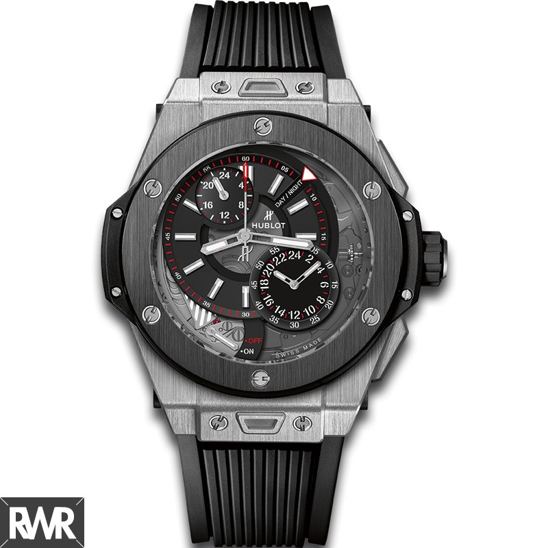 Fake Hublot Big Bang Alarm Repeater Titanium Ceramic 45mm 403.NM.0123.RX