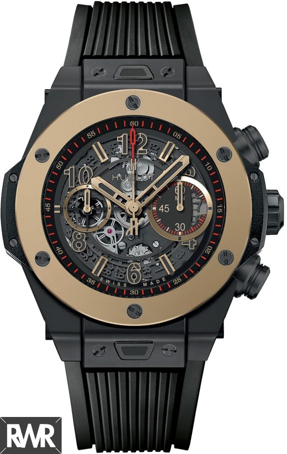 Fake Hublot Big Bang Unico Magic Gold 411.CM.1138.RX