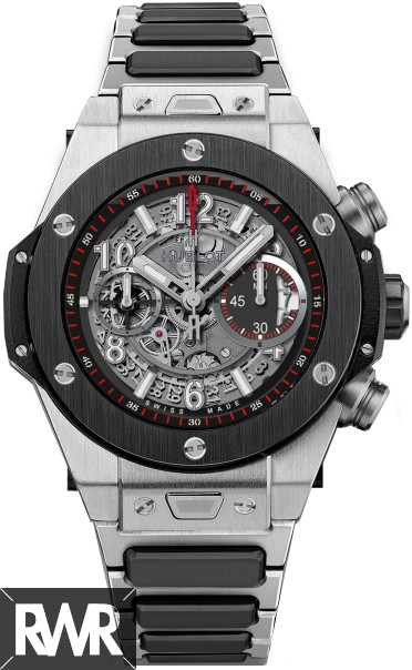 Fake Hublot Big Bang Unico Titanium Ceramic Bracelet 411.NM.1170.NM