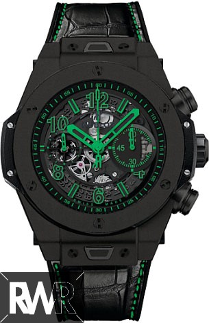 Replica Hublot Big Bang Unico All Black Green Black Ceramic 411.CI.1190.LR.ABG14