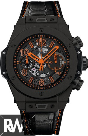 Replica Hublot Big Bang Unico All Black Orange Black Ceramic 411.CI.1190.LR.ABO14