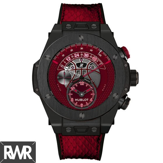 "Fake Hublot Big Bang Unico Retrograde Kobe ""Vino"" Bryant Ceramic 413.CX.4723.PR.KOB15"