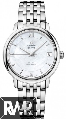 Fake Omega De Ville Prestige Co-Axial 32.7 Ladies Watch 424.10.33.20.05.001
