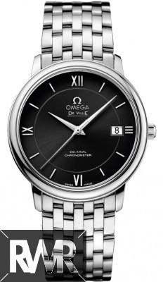 Fake Omega De Ville Prestige Co-Axial 36.8 Mens Watch 424.10.37.20.01.001