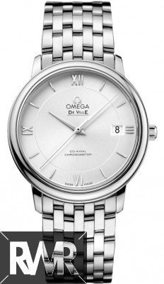 Fake Omega De Ville Prestige Co-Axial 36.8 mm Mens Watch 424.10.37.20.02.001