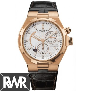 Replica Vacheron Constantin Overseas Dual Time 47450/000R-9404 Rose Gold Watch