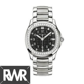 Replica Patek Philippe Aquanaut Ladies Diamond Watch 5087-1A-001