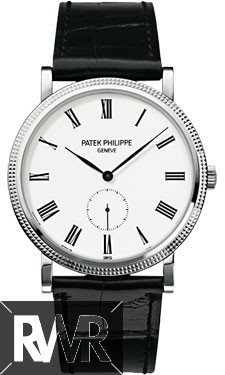 Replica Patek Philippe Calatrava White Gold Mens Watch 5119G-001