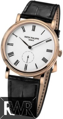 Replica Patek Philippe Calatrava Mens Watch Rose Gold 5119R-001