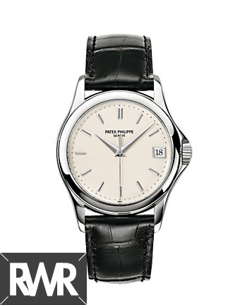 Replica Patek Philippe Calatrava White Gold Mens Watch 5127G