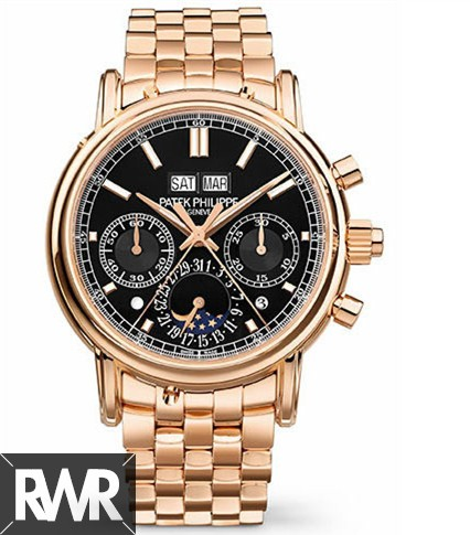 Cheap AAA Replica Patek Philippe Perpetual Calendar Split-Seconds Chronograph 5204/1R-001