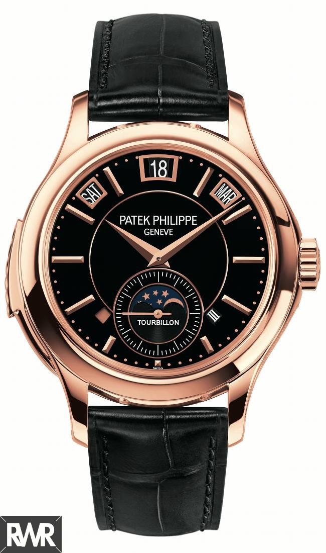 Replica Patek Philippe Minute Repeater & Perpetual Calendar Tourbillon 5207R-001