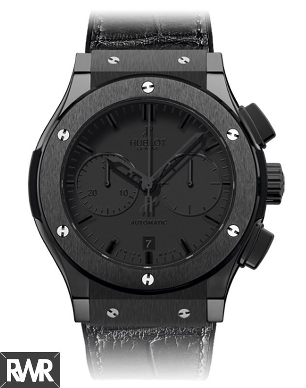 Hublot Classic Fusion All Black Chrono 521.CM.1110.LR Replica