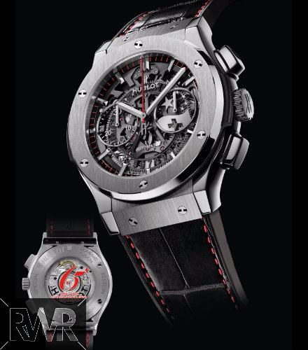 "Fake Hublot Classic Fusion Chrono Aero ""65th Anniversary Swiss-China""Watch 525.NX.0137.LR.SIS15"