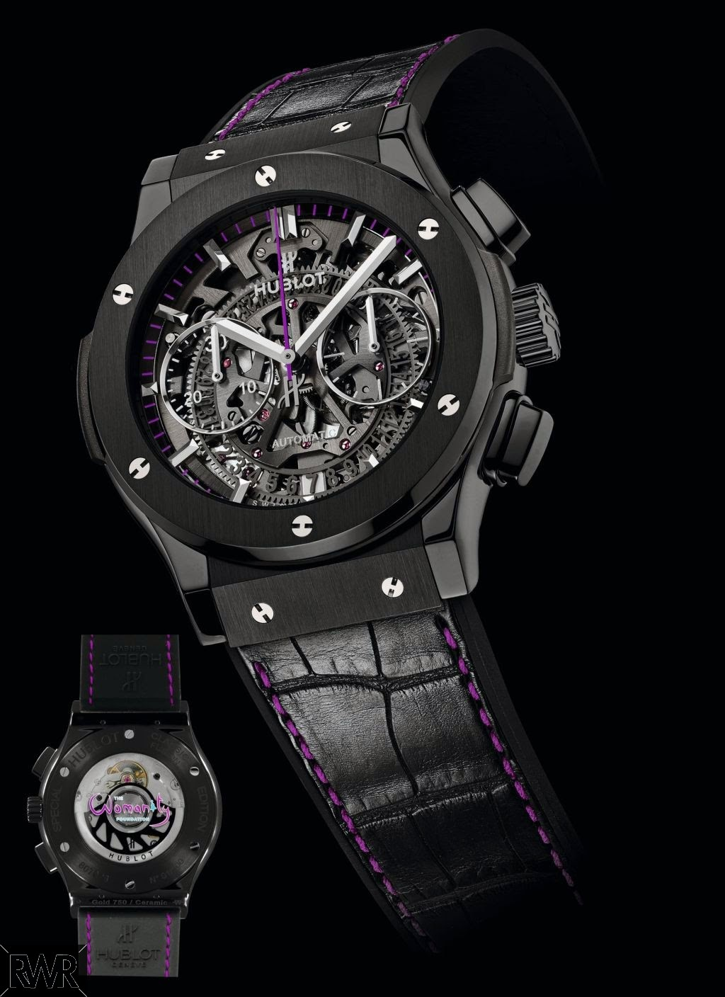 Replica Hublot Classic Fusion Chronograph Womanity for Men 525.CM.0179.LR.WTY14
