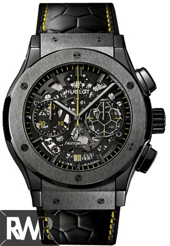 Hublot Classic Fusion Pele Chrono Skeleton Dial Men's Watch 525.CM.0179.VR.PEL14