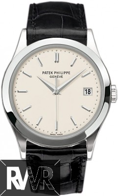 Replica Patek Philippe Calatrava White Gold Men's Watch 5296G-010