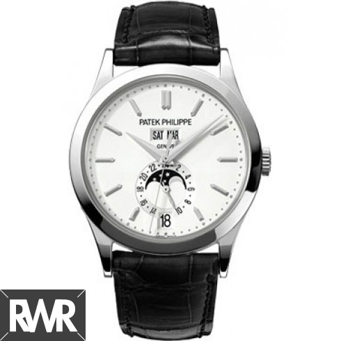 AAA grade Patek Philippe Grand Complications Silvery Opaline 5396G-011 Replica