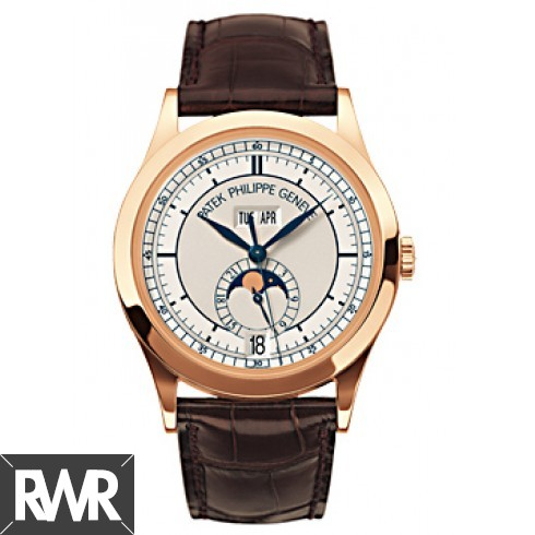 AAA grade Patek Philippe Patek Complicated Annual Calendar 18kt Rose Gold 5396R Replica