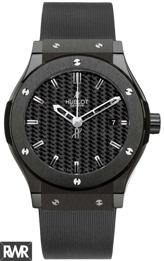 Hublot Classic Fusion Black Magic Ceramic 542.CM.1770.RX replica.