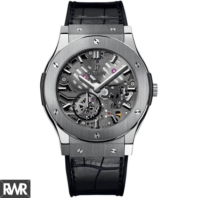 Hublot Classic Fusion Classico Ultra-thin Skeleton Titanium 545.NX.0170.LR imitation watch