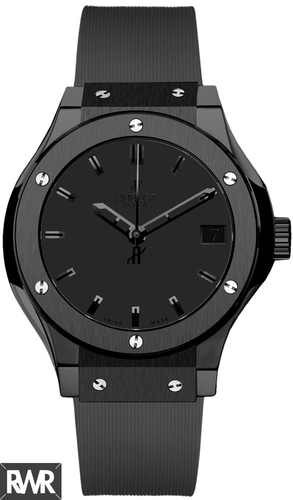 Replica Hublot Classic Fusion All Black watch 561.CM.1110.RX replica.