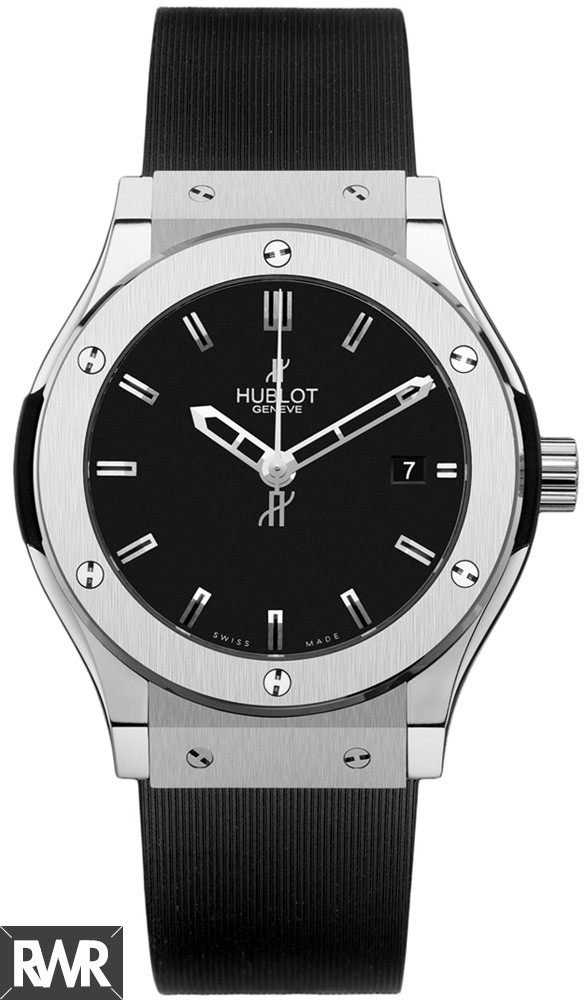 Replica Hublot Classic Fusion Quartz Zirconium 38mm Men's Watch 561.ZX.1170.RX