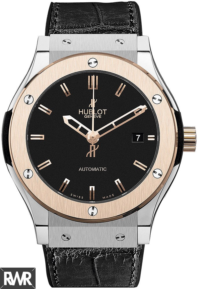 Hublot Classic Fusion Titanium King Gold 565.NO.1180.LR imitation watch