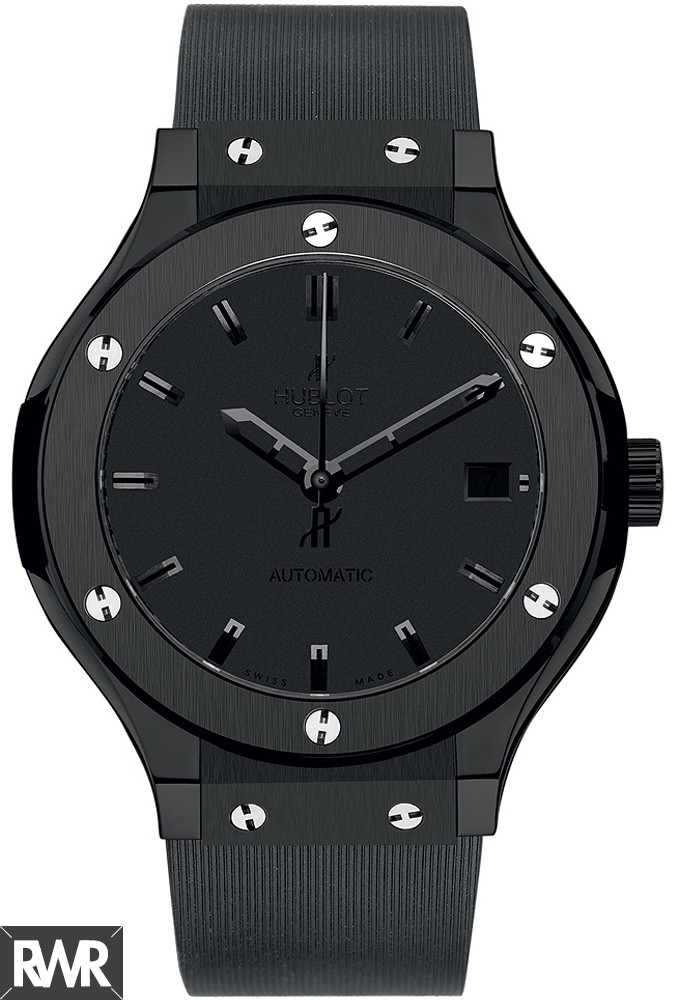 Hublot Classic Fusion All Black Replica Watch 565.CM.1110.LR