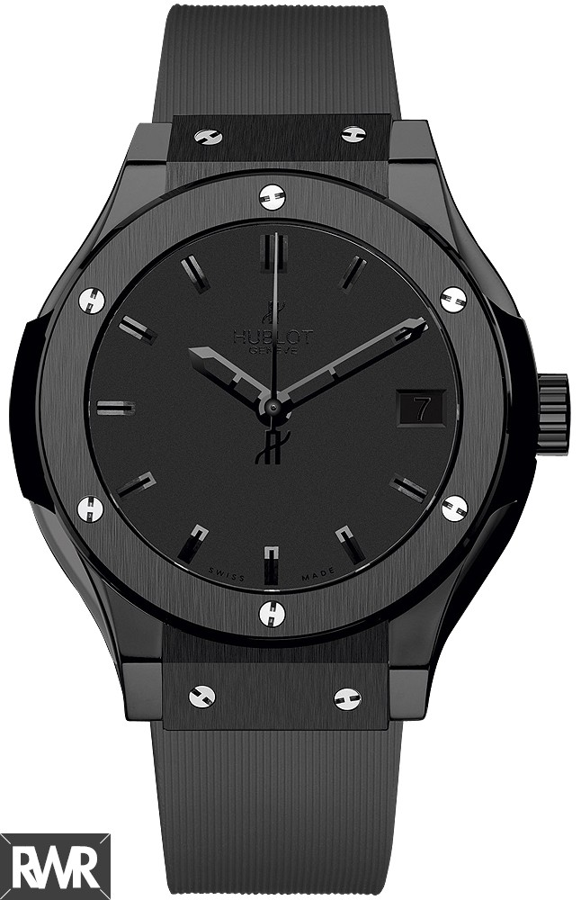 Hublot Classic Fusion All Black  Replica Watch 581.CM.1110.RX