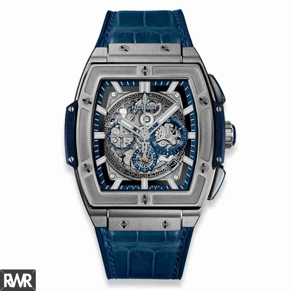 fake Hublot Spirit of Big Bang Titanium Blue 45mm