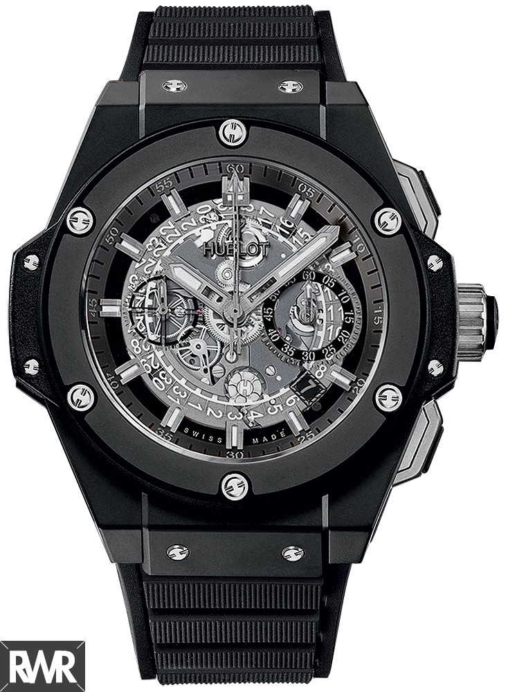 Replica Hublot King Power Unico Black Magic 48mm 701.CI.0170.RX