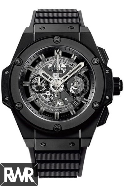Hublot Big Bang King Power Unico All Black Replica 701.CI.0110.RX
