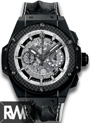 Replica Hublot King Power Unico Black and White 701.CQ.0112.HR
