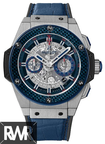Replica Hublot King Power Special One Blue Carbon 701.NQ.0137.GR.SPO14