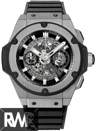 Replica Hublot King Power Unico Chronograph Titanium 48mm Men's watch 701.NX.0170.RX