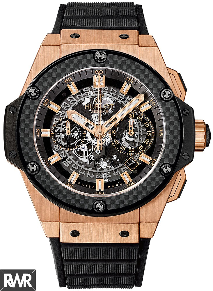 Hublot King Power Unico King Gold Carbon Replica 701.OQ.0180.RX