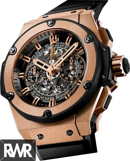 Replica Hublot King Power Unico King Gold Chronograph 701.OX.0180.RX