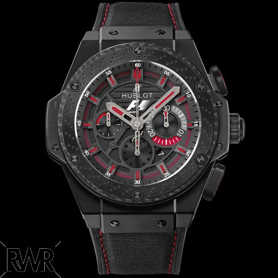 Hublot King Power F1 Ceramic Carbon Fiber Watch 703.CI.1123.NR.FMO10