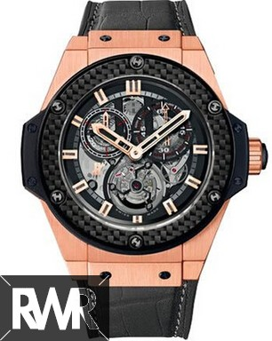 Replica Hublot King Power Gold Minute Repeater Chrono Tourbillon 704.OQ.1138.GR