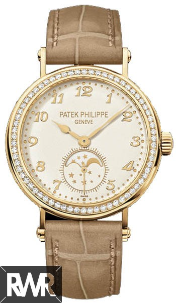 Replica Patek Philippe Ladies Moon Phase Complications 7121J-001