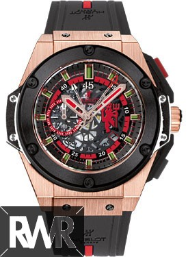 Replica Hublot King Power Red Devil Manchester United Rose Gold 716.OM.1129.RX.MAN11