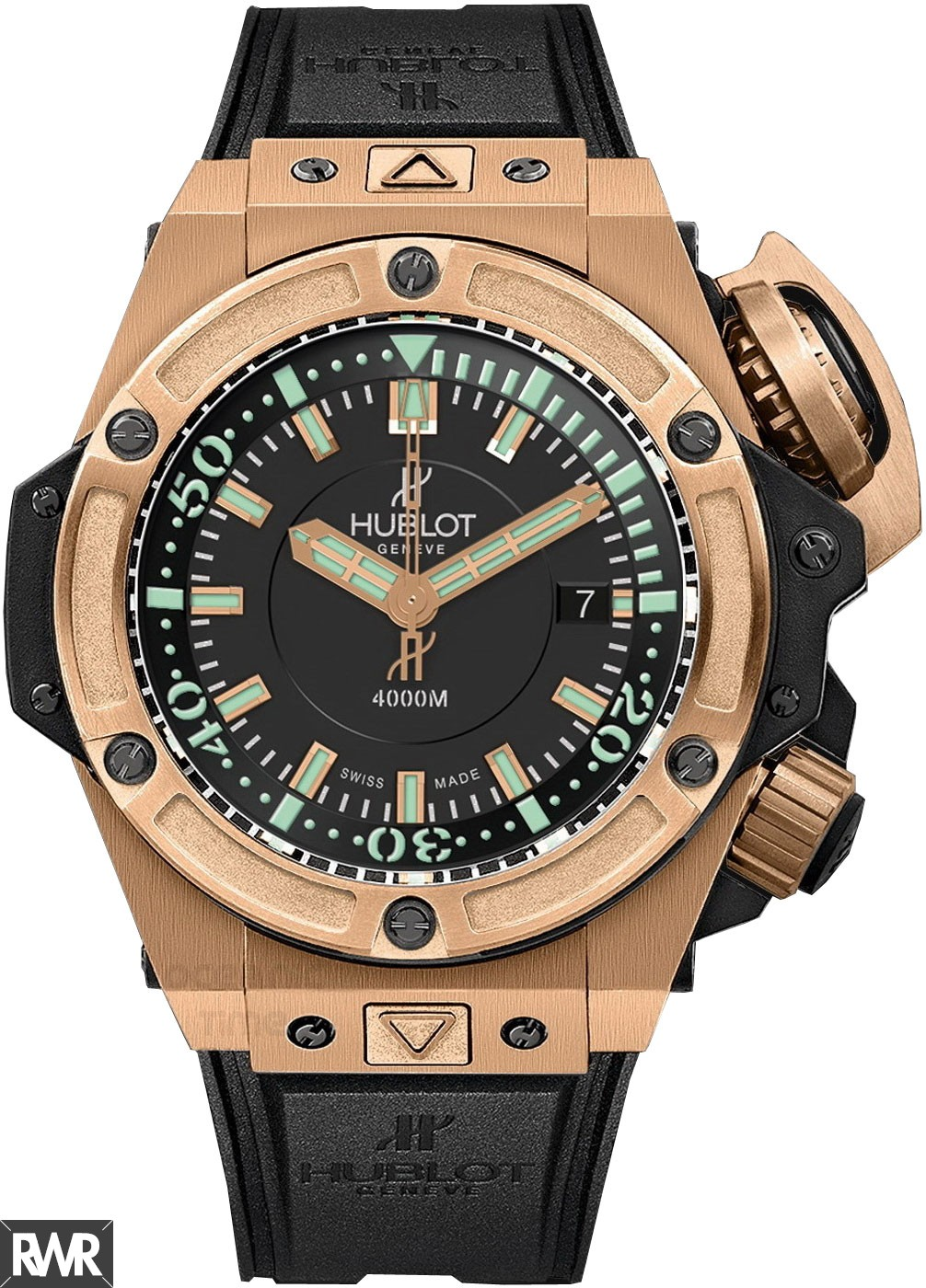 Replica Hublot King Power Oceanographic 4000 King Gold 48mm 731.OX.1170.RX