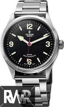 Replica Tudor Heritage Ranger Black Dial Automatic Men Steel Watch 79910-95760