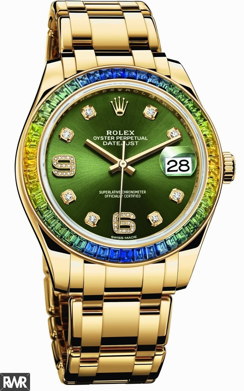 Replica Rolex Oyster Perpetual Datejust Pearlmaster 39 86348 SABLV-42748