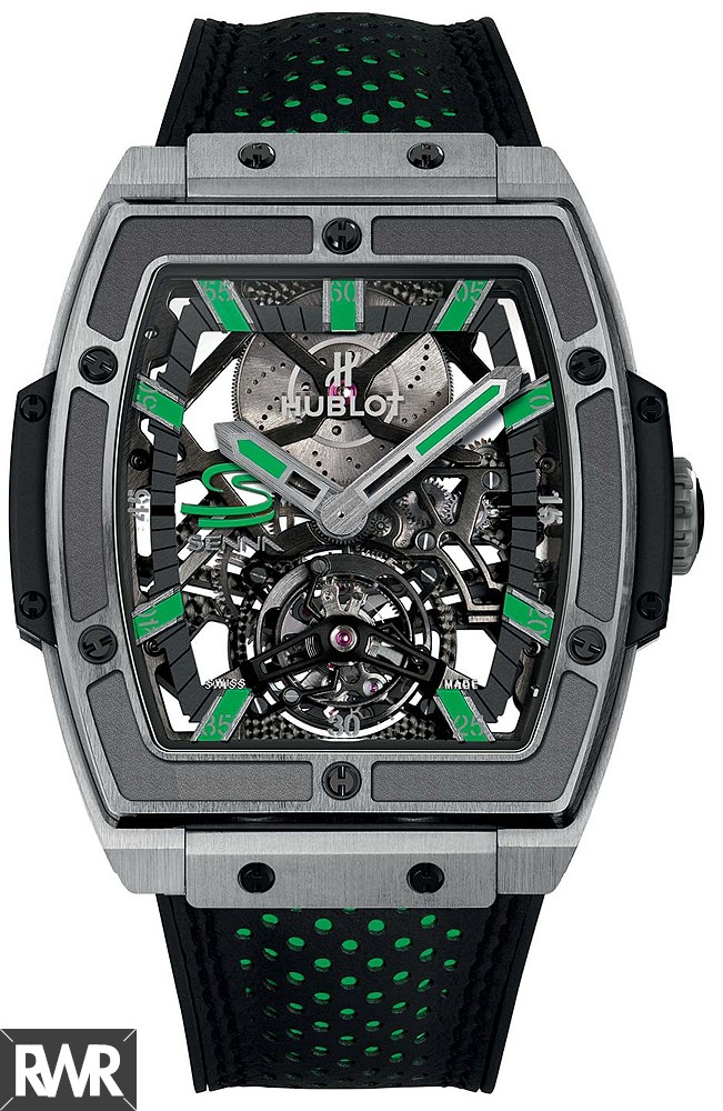 Replica Hublot Masterpiece MP-06 Senna Titanium Mens Watch 906.NX.0129.VR.AES13