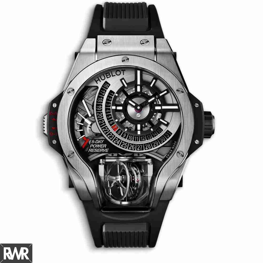 Hublot MP-09 Tourbillon Bi-Axis Titanium fake