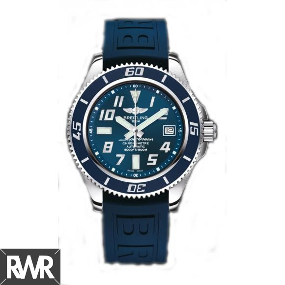 Fake Breitling Superocean 42 Blue Dial Watch A173643B/C868/148S/A18D.2